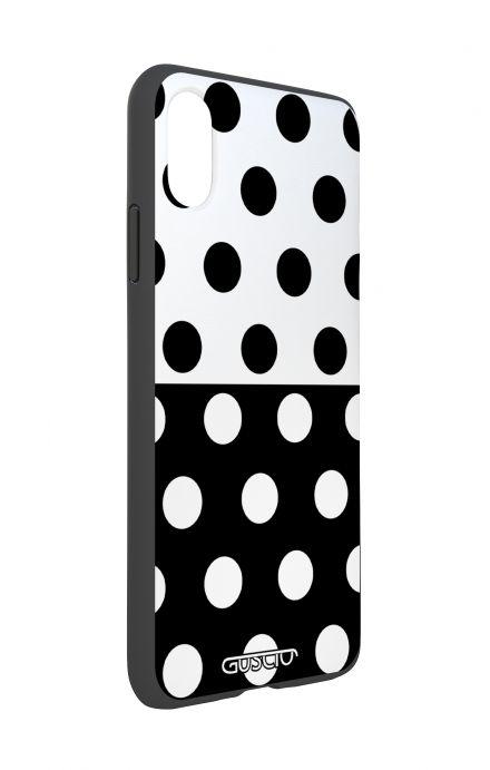 Cover Apple iPhone 7/8 Plus TPU - Lace Chocolate
