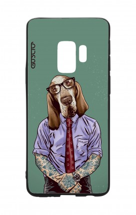 Samsung S9 WHT Two-Component Cover - Italian Hound