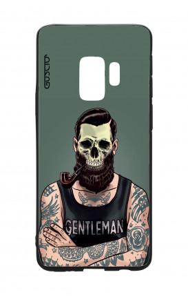 Cover Bicomponente Samsung S9 - Teschio gentiluomo