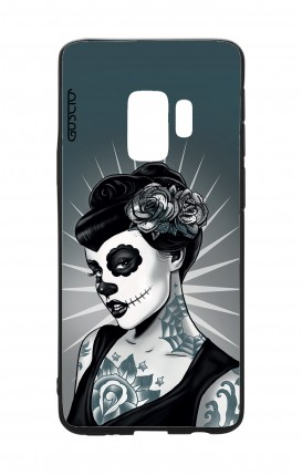Samsung S9 WHT Two-Component Cover - Calavera Grey Shades