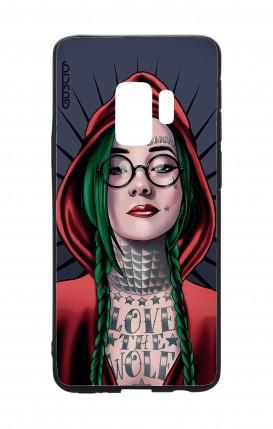 Cover Bicomponente Samsung S9 - Cappuccetto rosso tatuata