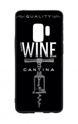 Cover Bicomponente Samsung S9 - Wine Cantina