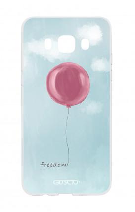 Cover TPU Samsung Galaxy J7 2016 - palloncino della libertà