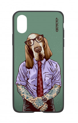 Cover TPU Apple iPhone 7/8  - Pitbull tatuato