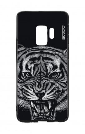 Cover Bicomponente Samsung S9 - Tigre nera
