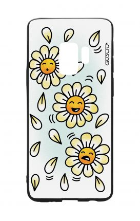 Cover Bicomponente Samsung S9 - BNC margherite