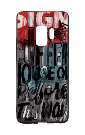 Cover Bicomponente Samsung S9 - Coffee House
