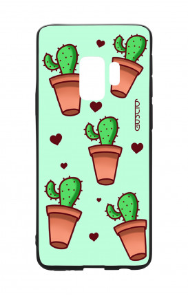 Cover Bicomponente Samsung S9 - Cactus Pattern