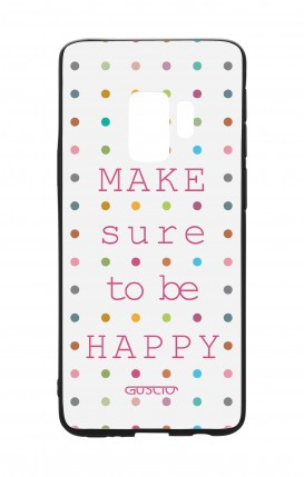 Cover Bicomponente Samsung S9 - Make sure to be happy
