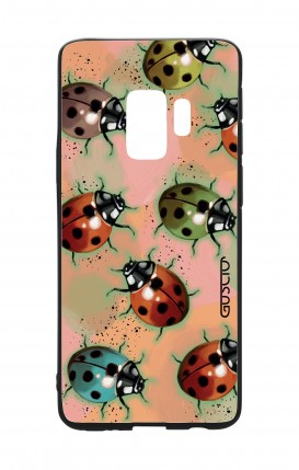Samsung S9 WHT Two-Component Cover - Lady bugs