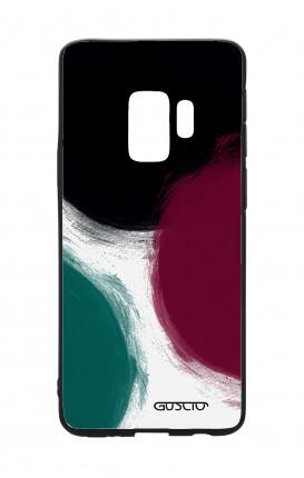 Cover Bicomponente Samsung S9 - Grandi pois