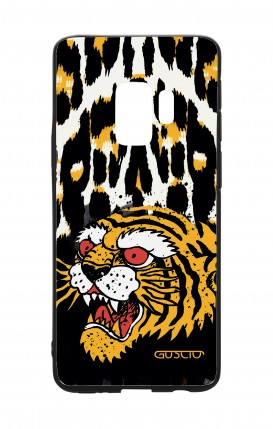 Samsung S9 WHT Two-Component Cover - Tiger Animalier
