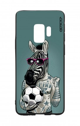 Cover Bicomponente Samsung S9Plus - Zebra