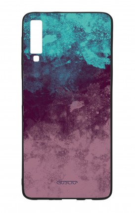 Cover Bicomponente Samsung A7 2018 - Mineral Violet