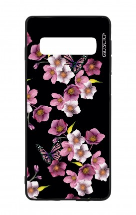 Samsung S10 WHT Two-Component Cover - Cherry Blossom