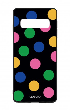 Cover Bicomponente Samsung S9Plus - Pizzo bianco
