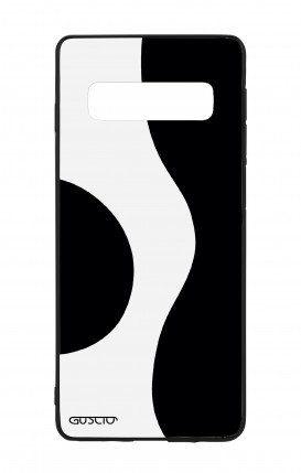 Cover Bicomponente Samsung S9Plus - Farfalle e foglie