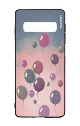 Samsung S10 WHT Two-Component Cover - Balloons