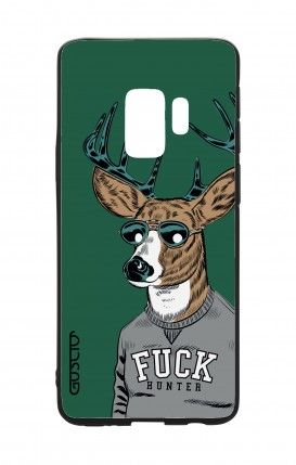 Cover Bicomponente Samsung S9Plus - Fuck Hunter