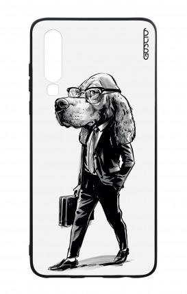 Cover Bicomponente Huawei P30 - Business Dog