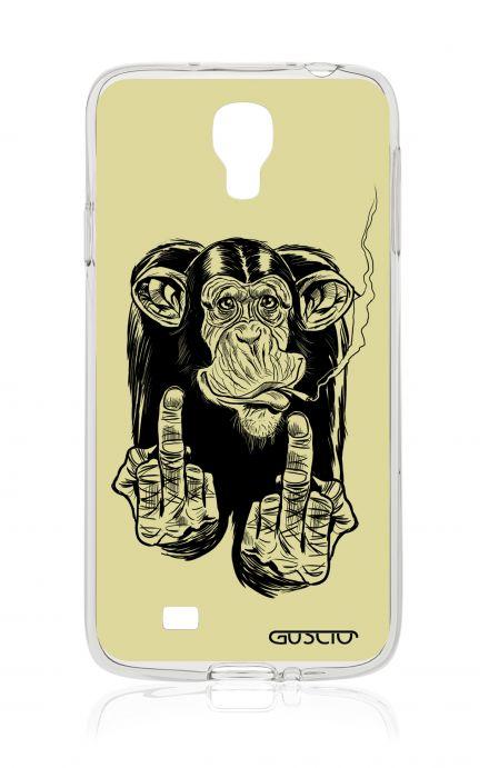 Cover Samsung Galaxy S4 - Scimmia che fuma