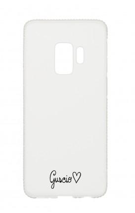 Cover Diamonds Samsung S9 TPU TRS - Guscio con Amore