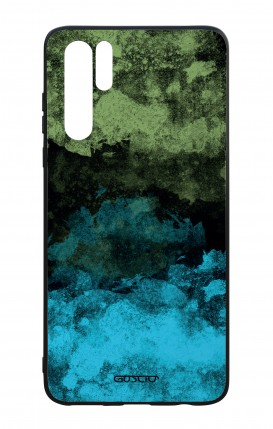 Cover Bicomponente Huawei P30PRO - Mineral BlackLime
