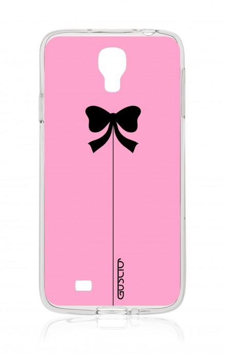 Cover Samsung Galaxy S4 - Fiocco rosa