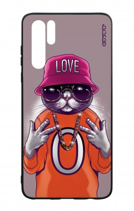Huawei P30PRO WHT Two-Component Cover - Cat Love