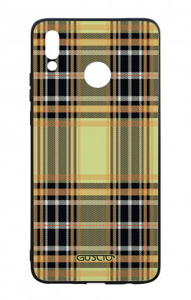 Cover Bicomponente Huawei P Smart PLUS - Tartan giallo