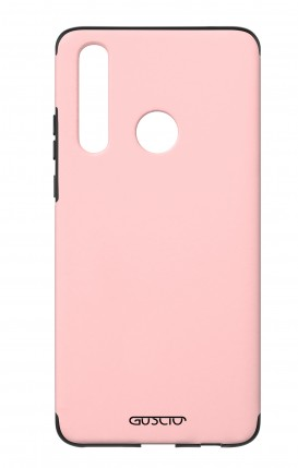 Cover Skin Feeling Huawei P30 Lite Pink - Logo