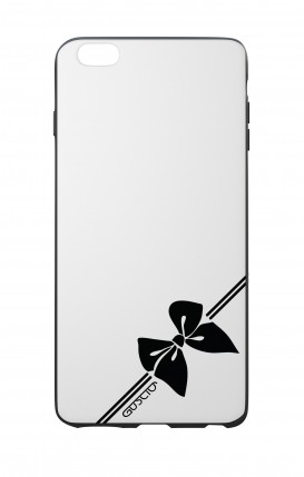 Apple iPhone 7/8 White Two-Component Cover - Corner Bow
