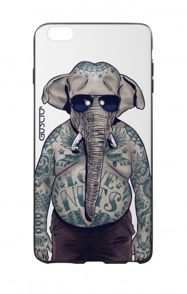 Apple iPhone 7/8 White Two-Component Cover - WHT Elephant Man