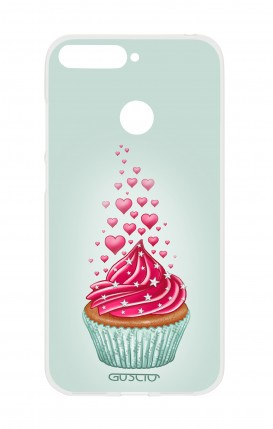 Cover HUAWEI Y6 2018 Prime - Cupcake in Love