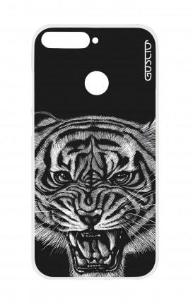 Cover Huawei Y6 2018 Prime - Tigre nera