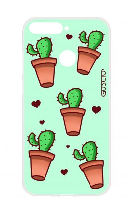 Cover Huawei Y6 2018 Prime - Cactus Pattern