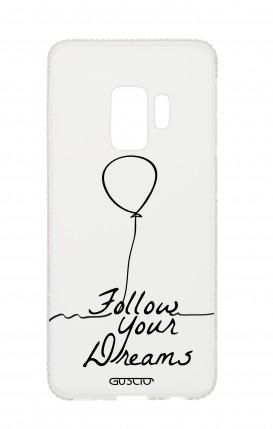 Cover Diamonds Samsung S9Plus TPU TRS - Follow your dream