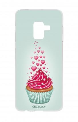 Cover Samsung A6 2018 - Cupcake in Love