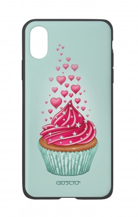 Apple iPhone XR Two-Component Cover - Cupcake in Love