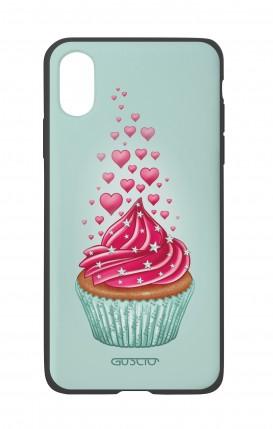 Cover Bicomponente Apple iPhone XR - Dolcetto innamorato