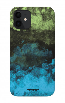 """Soft Touch Case Apple iPhone 12 PRO 5.4"""" - Mineral Black Lime"""