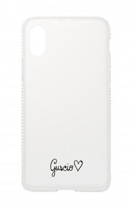 Cover Apple iPhone XR Diamonds - Guscio con Amore