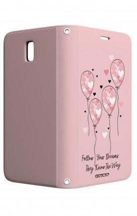 Case STAND Samsung J3 2017 - Pink Balloon
