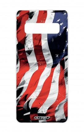 Cover Samsung S10e Lite - Bandiera americana