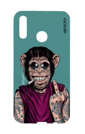 Cover TPU Huawei P Smart 2019 - Scimmia felice
