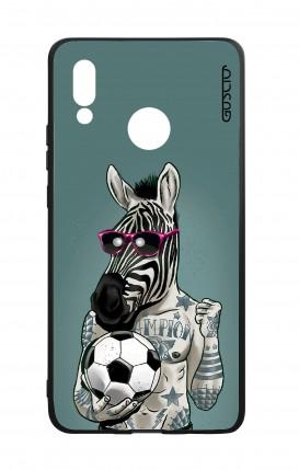 Cover Bicomponente Huawei P20Lite - Zebra