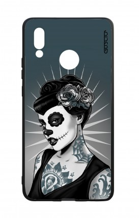 Huawei P20Lite WHT Two-Component Cover - Calavera Grey Shades