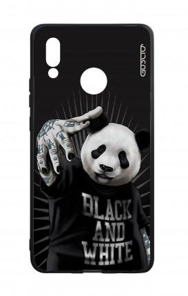 Cover Bicomponente Huawei P20Lite - Panda rap