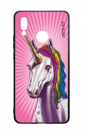Huawei P20Lite WHT Two-Component Cover - Magic Unicorn