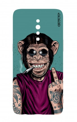 Cover Oppo Reno Z - Monkey's always Happy